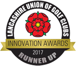 Lancashire Union of Golf Clubs, Innovation Awards 2017 Runner Up